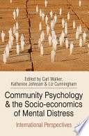 Community Psychology and the Socio economics of Mental Distress