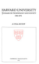 A Final Review  1964 1972