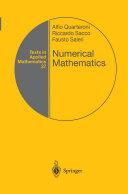 Numerical Mathematics