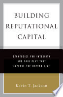Building Reputational Capital Book PDF