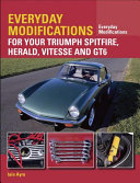 Everyday Modifications for your Triumph Spitfire  Herald  Vitesse and GT6