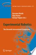 Experimental Robotics Book PDF