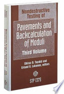 Nondestructive Testing of Pavements and Backcalculation of Moduli