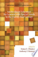 Multicultural Education For Learners With Special Needs In The Twentyfirst Century