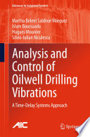 Analysis And Control Of Oilwell Drilling Vibrations Book PDF