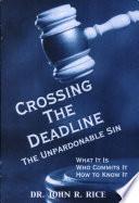 Crossing the Deadline Book