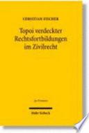 Topoi verdeckter Rechtsfortbildungen im Zivilrecht