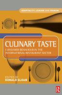 Culinary Taste [Pdf/ePub] eBook