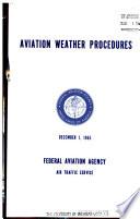 Aviation Weather Procedures