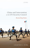 China and Intervention at the UN Security Council Pdf/ePub eBook