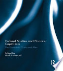 Cultural Studies and Finance Capitalism Book