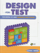 Cover of Design-for-test for Digital IC's and Embedded Core Systems