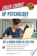 AP® Psychology Crash Course, 2nd Ed., Book + Online