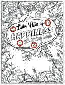 Little Hits Of Happiness Colouring Book Book PDF