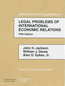 Legal Problems of International Economic Relations