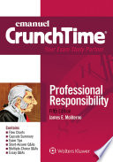 Emanuel Crunchtime For Professional Responsibility