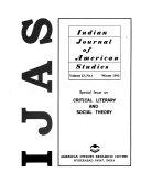 Indian Journal of American Studies