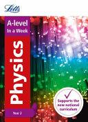 A -Level Physics, Year 2