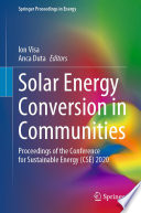 Solar Energy Conversion In Communities Book PDF