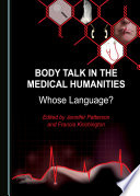 Body Talk in the Medical Humanities Book