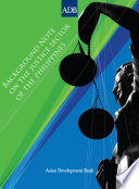 Background Note on the Philippine Justice Sector
