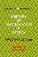 History of Mathematics in Africa: 2000-2011
