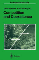 Competition and Coexistence Pdf