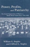 Power  Profits  and Patriarchy