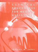 Workbook for Use with the Third Edition of Clinical Procedures for Medical Assistants