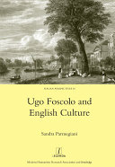 Pdf Ugo Foscolo and English Culture Telecharger