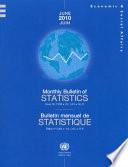 Monthly Bulletin Of Statistics June 2010