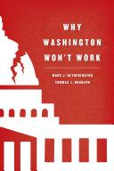 Why Washington Won t Work