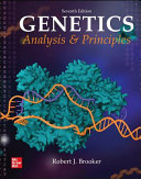 Loose Leaf for Genetics  Analysis and Principles