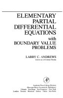 Elementary Partial Differential Equations with Boundary Value Problems