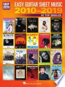 Easy Guitar Sheet Music 2010 2019