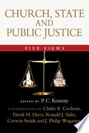 Church  State and Public Justice