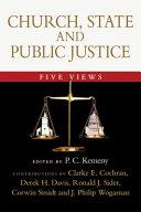 Church, State and Public Justice Pdf/ePub eBook