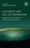 Autonomy and Self-Determination Pdf/ePub eBook