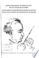 Revue musicale suisse