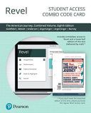 Revel for the American Journey Access Card