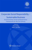 Corporate Social Responsibility     Sustainable Business