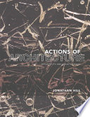 Actions of Architecture Book