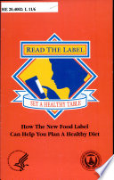 Read the Label  Set a Healthy Table
