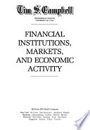 Financial Institutions, Markets, and Economic Activity
