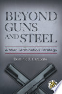 Beyond Guns and Steel