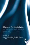 Electoral Politics In India