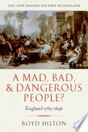 A Mad Bad And Dangerous People
