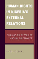 Human Rights in Nigeria's External Relations