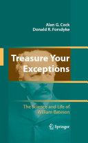 Treasure Your Exceptions Book