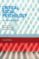 Critical Social Psychology